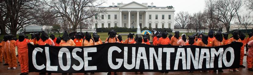 تظاهرة لأمنستي أنترناشنال أمام البيت الأبيض مطالبة بإغلاق غوانتانامو